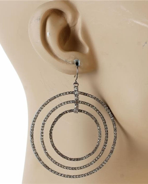 In Circular Motion Earrings