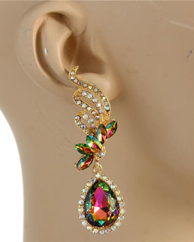 Queen's Gem Earrings