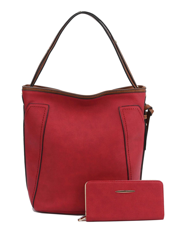 Olden Days Handbag + Wallet Set