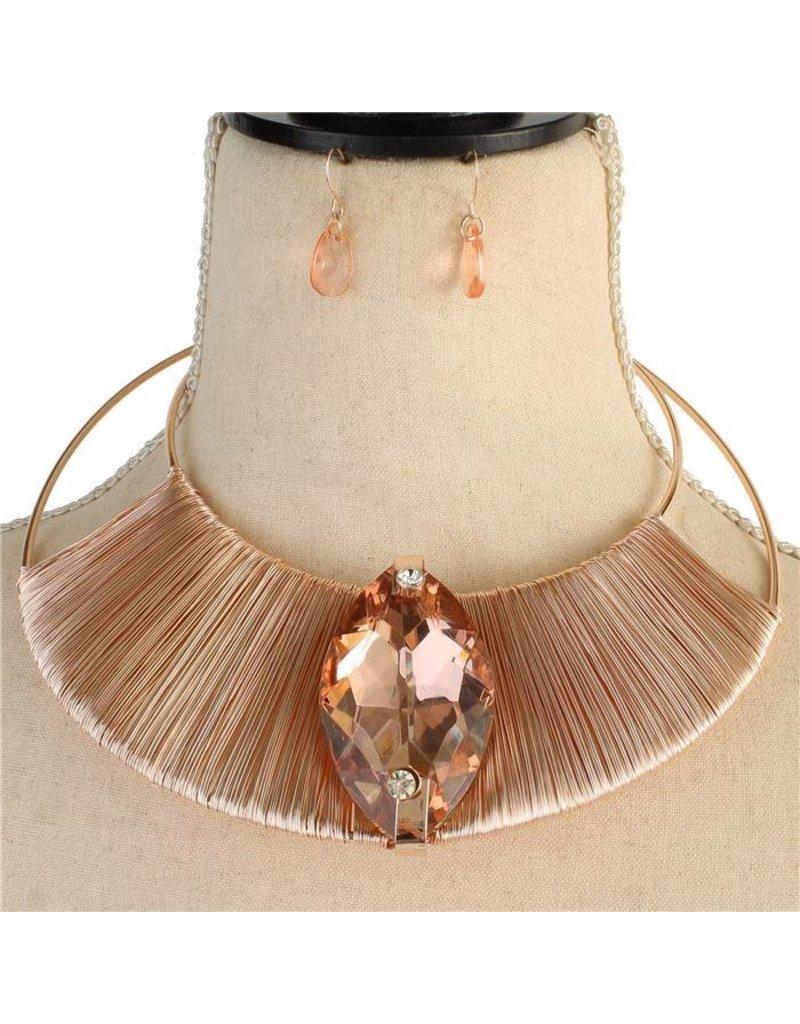 Electric Connection Necklace Set