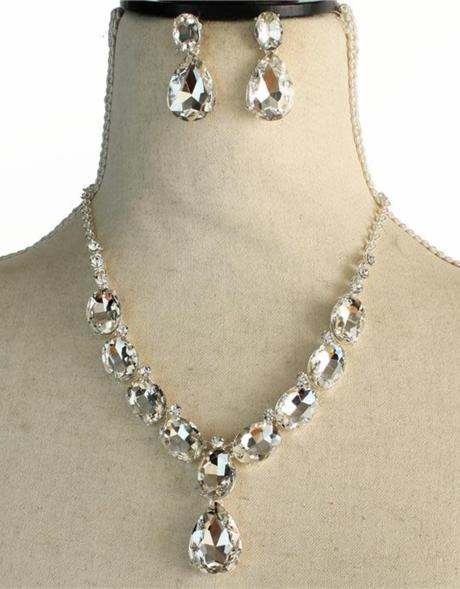 Battle of Diamonds Necklace Set