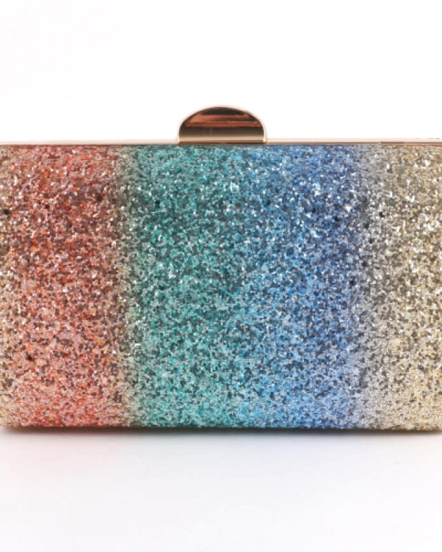 Rainbow Delight Clutch