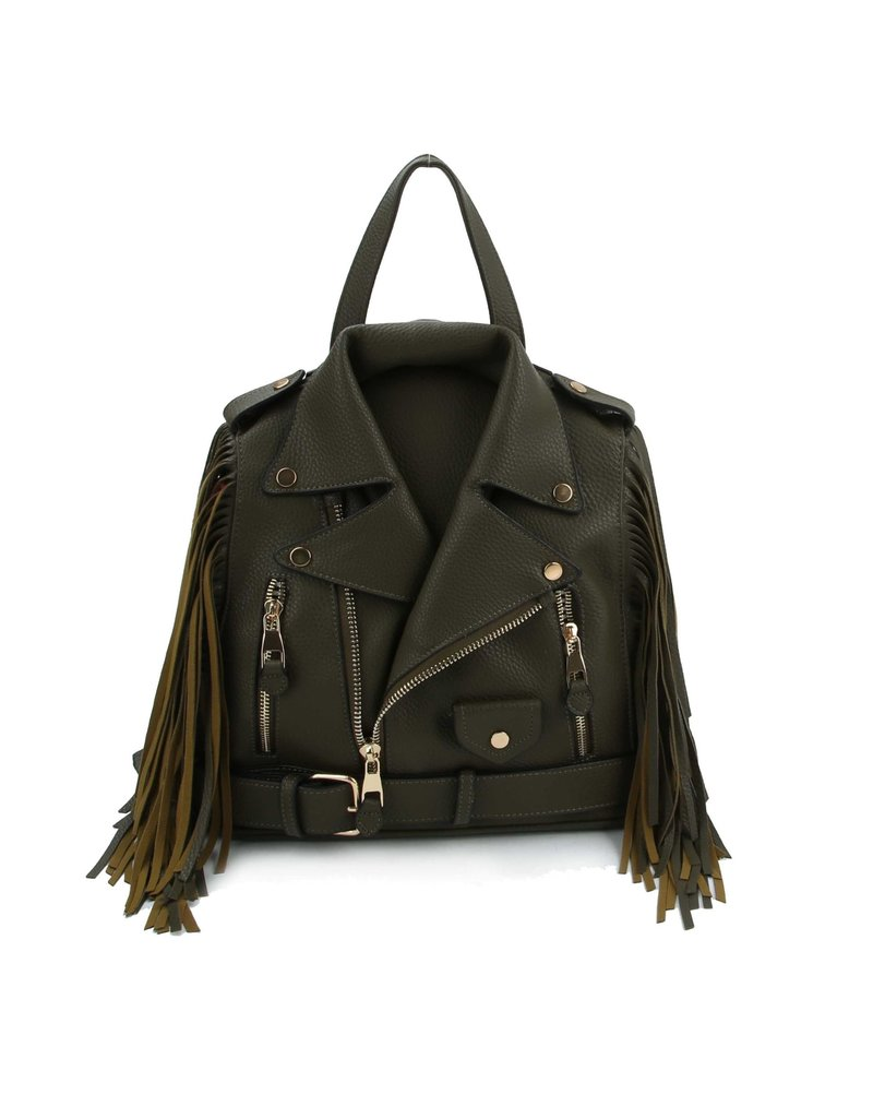 Bad Girl Fringe Backpack
