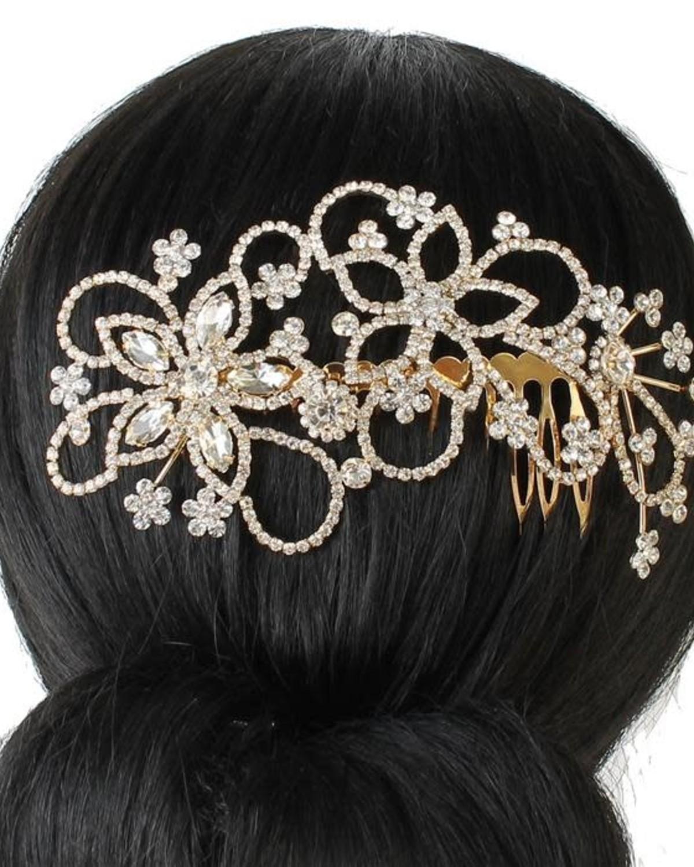 Dynamic Jewel Hair Comb