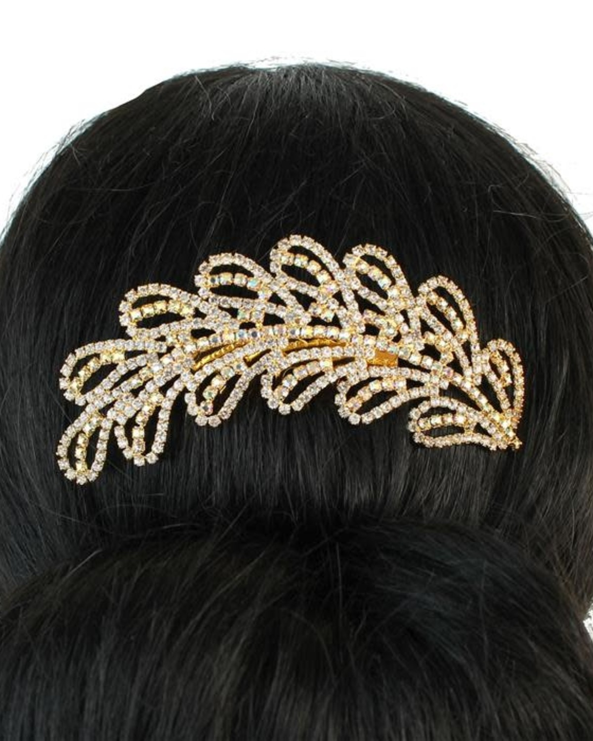 Branches of Bling Hair Comb