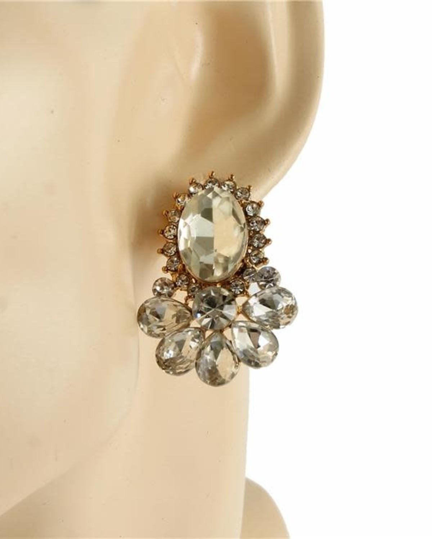 Vintage Lady Earrings (CLIP ON)