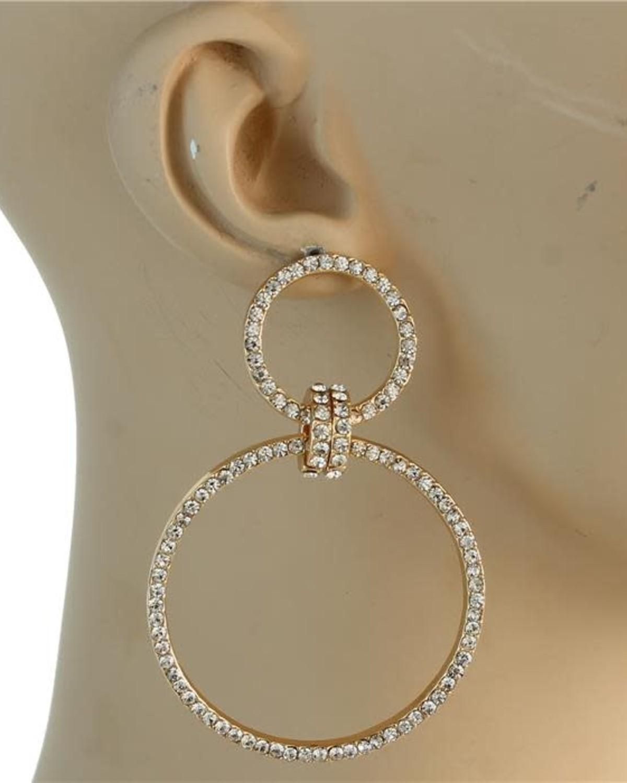 Hooped In Earrings