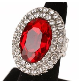 Caged Jewel Ring