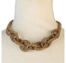 Knotted Bling Necklace