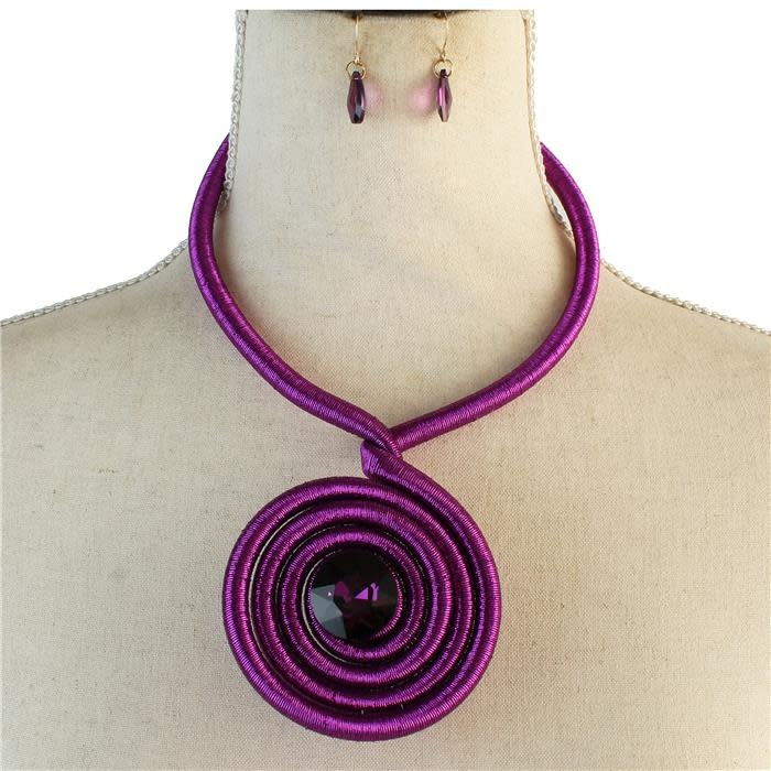 Ancient Wrap Necklace Set