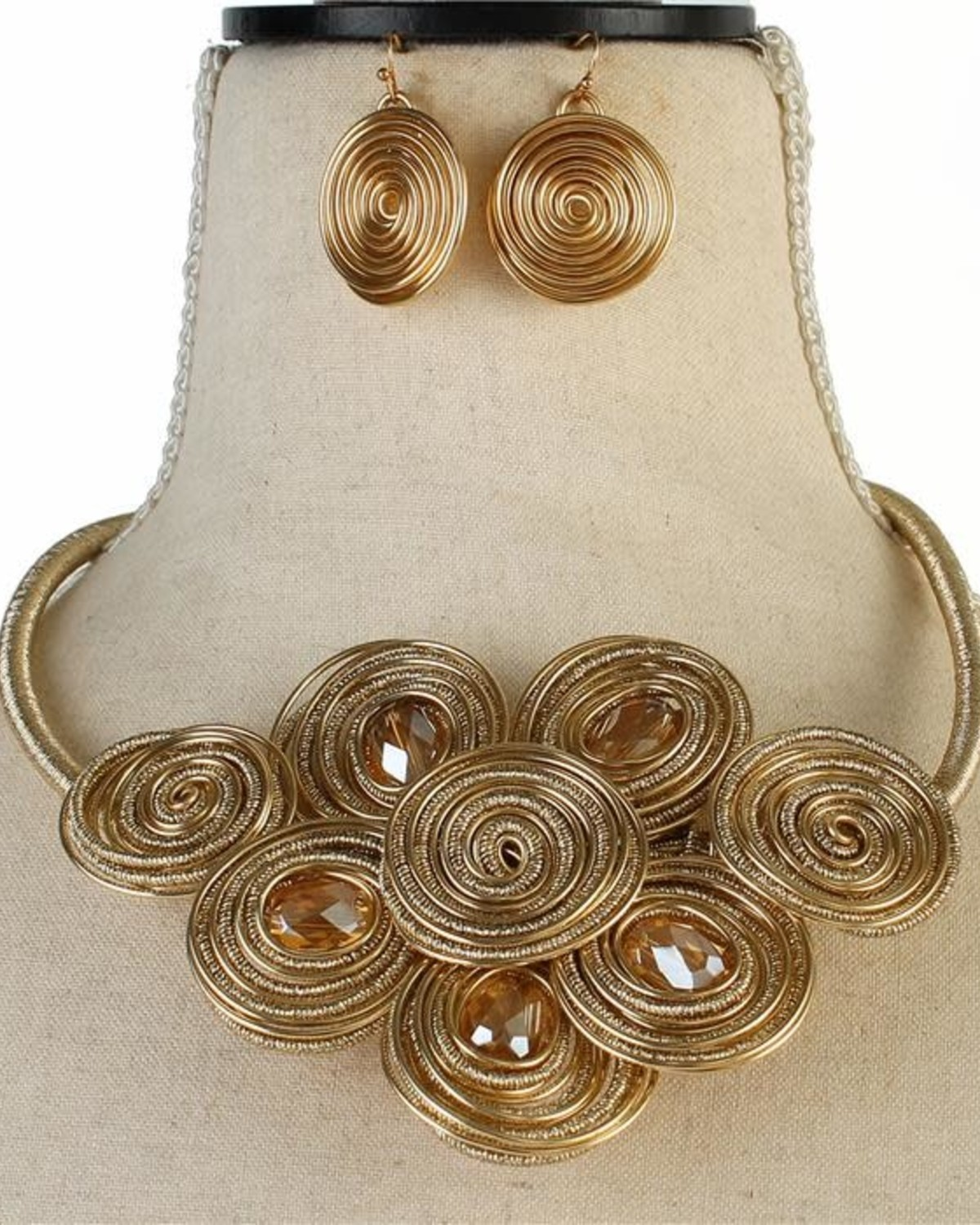 Swirl Whirl Necklace Set