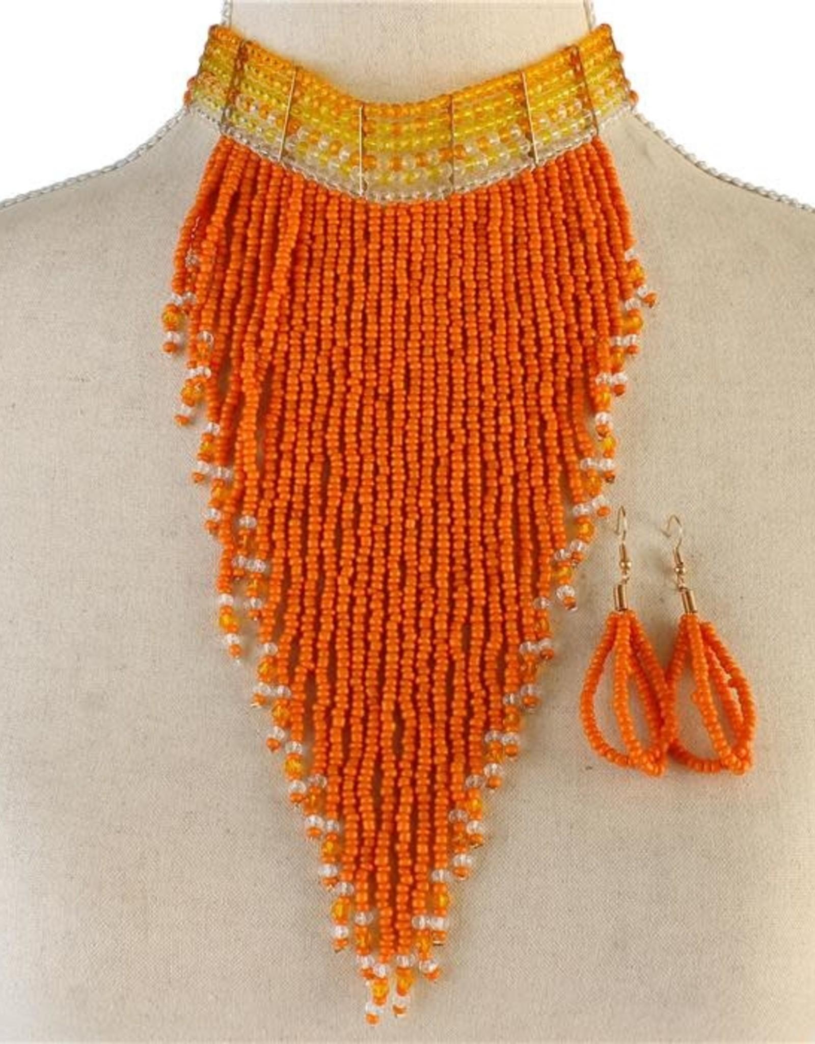 Bead Bazzar Necklace Set