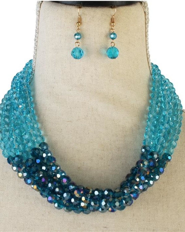 Glamour Girl Beaded Necklace Set