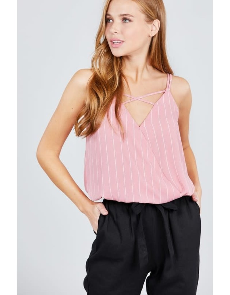 Down For You Top Pink