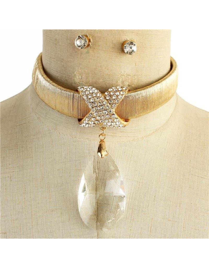 Queen B Necklace Set