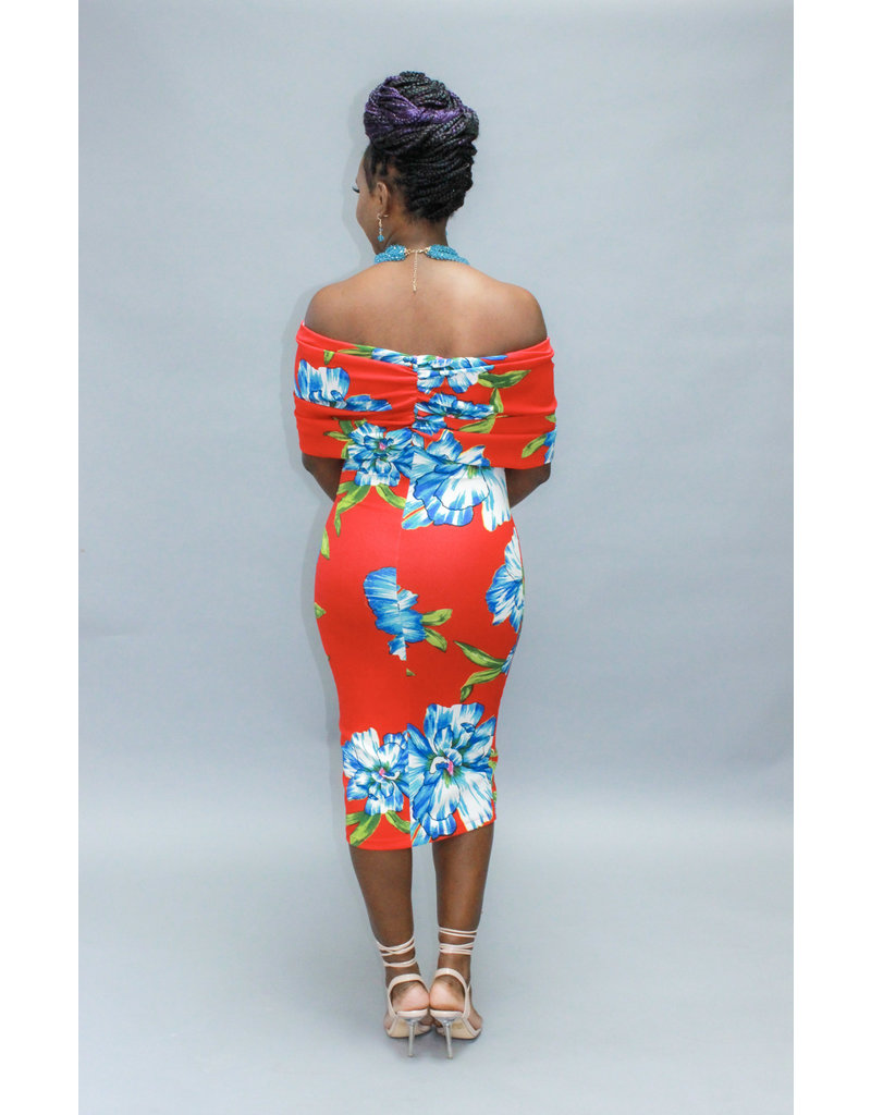 Perfect One Floral Dress