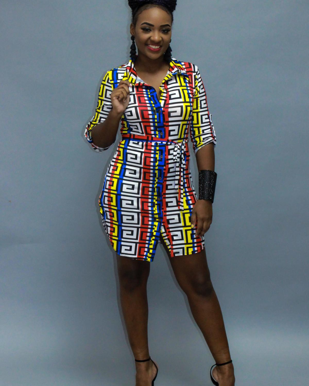 Made For Me Designer Shirt Dress