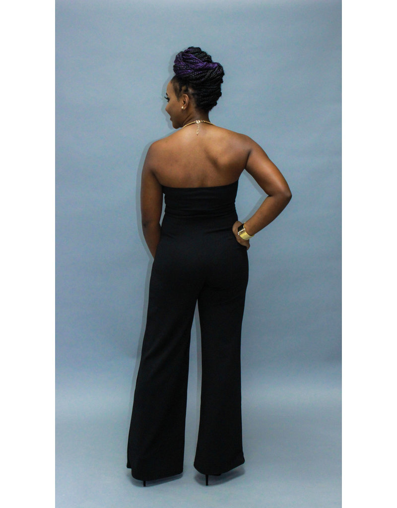 Midnight Madness Tie Jumpsuit