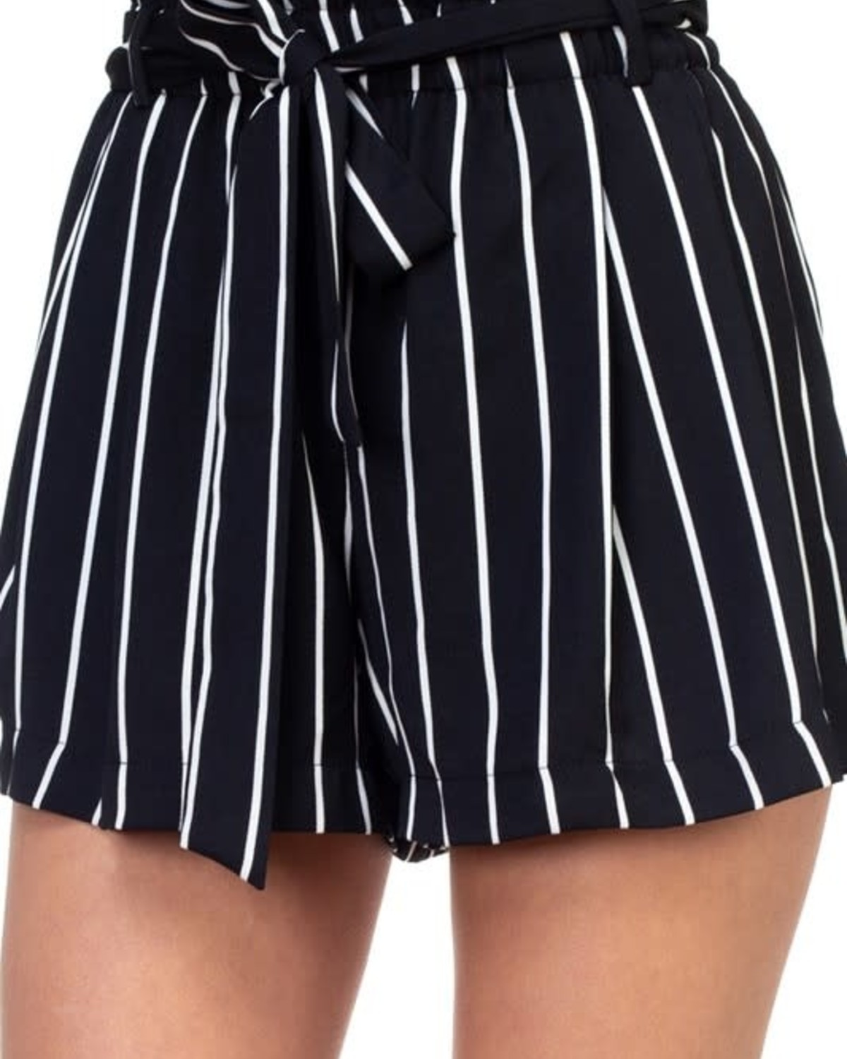 Get Going Striped Shorts