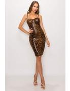 Hot Or Not Leopard Dress