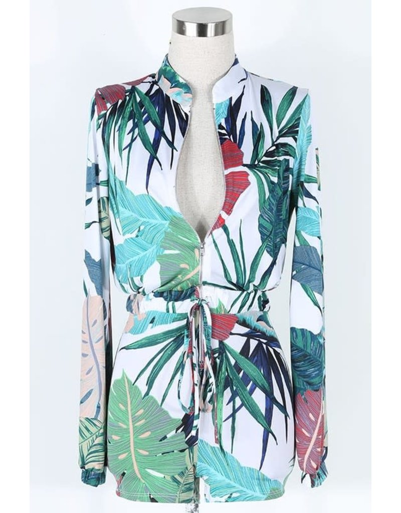 Losing It Palm Romper