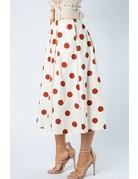 Stoplight Polka Dot Skirt