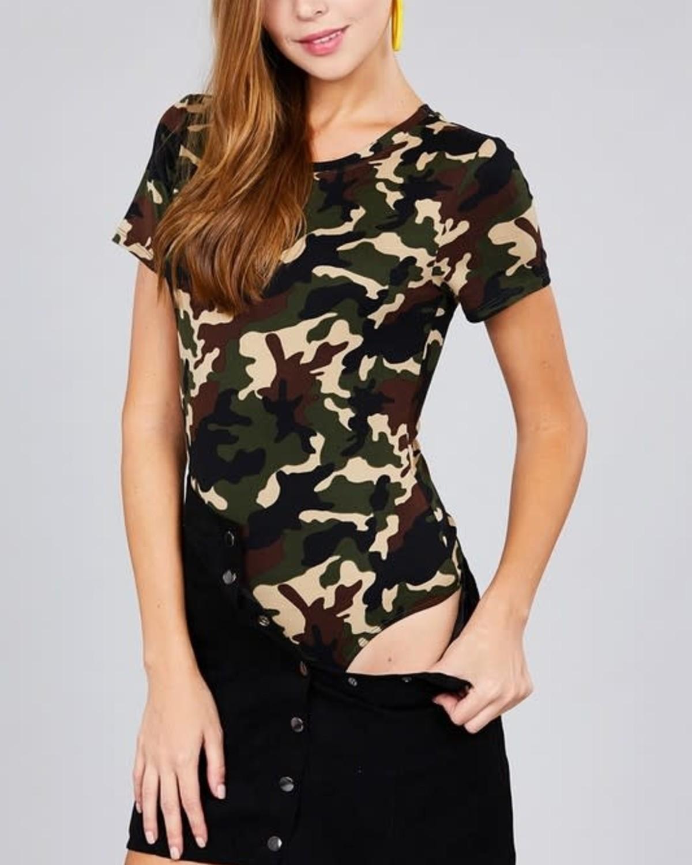Hiding Out Camouflage Bodysuit