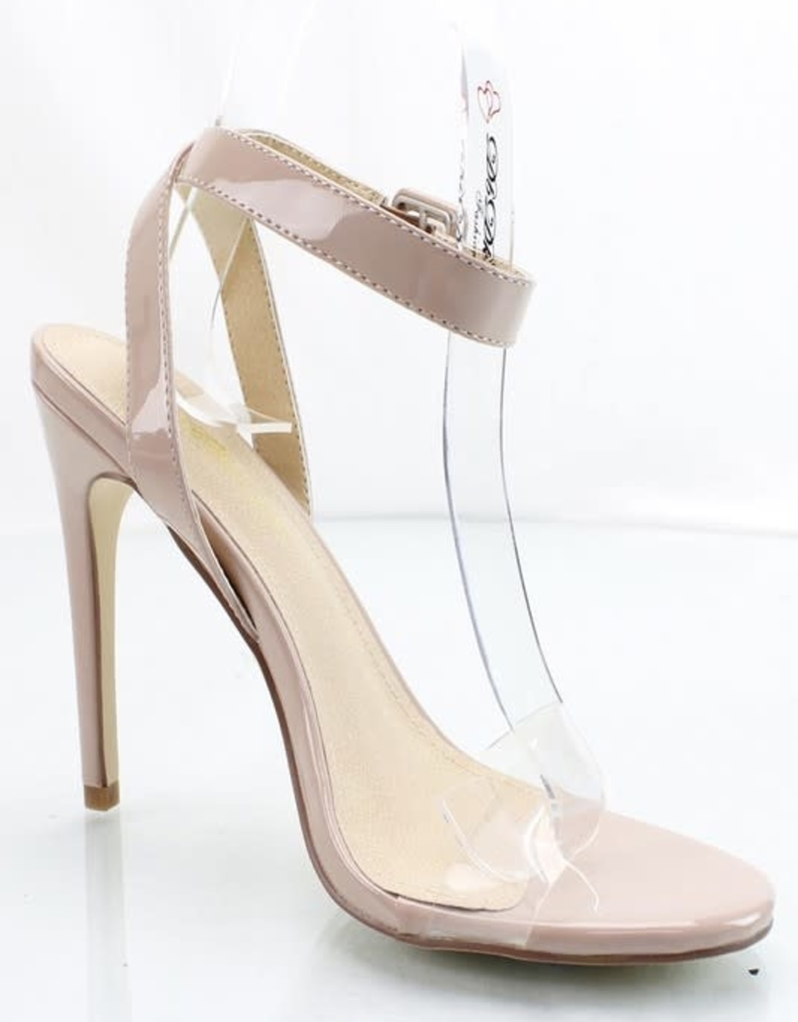 Barely There Heels Nude