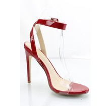 Barely There Heels Red