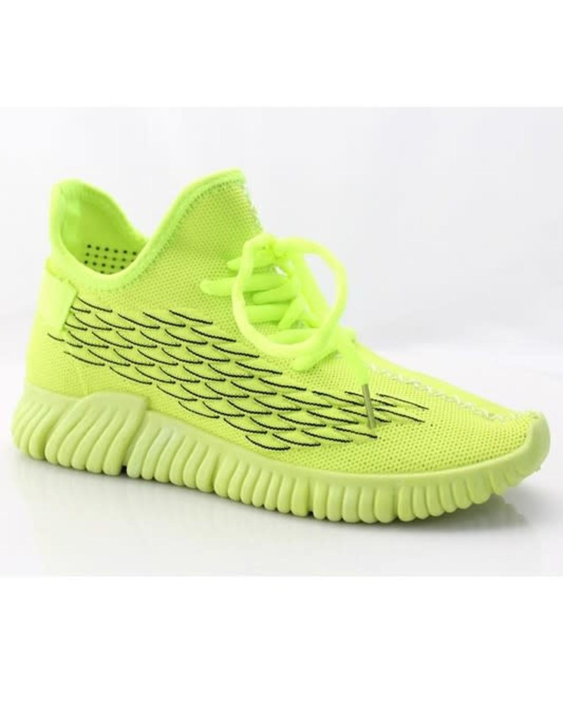 Jump Start Sneakers Neon Yellow