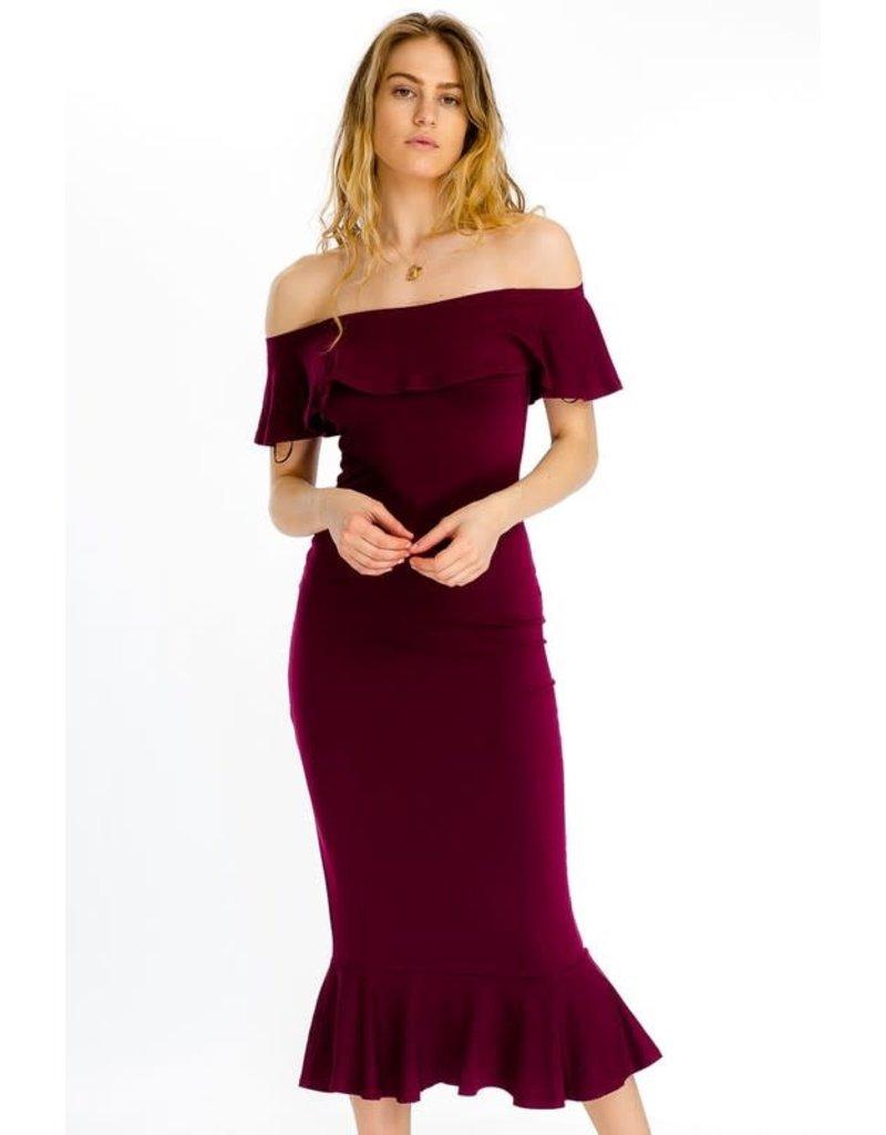 Mermaid Magic Midi Dress
