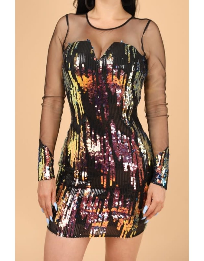 Rocket Girl Sequin Dress