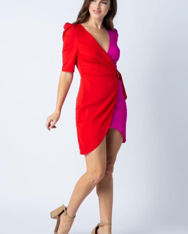 Sweet Treat Color Block Dress