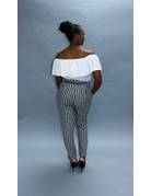 Blurred Lines Striped Pants