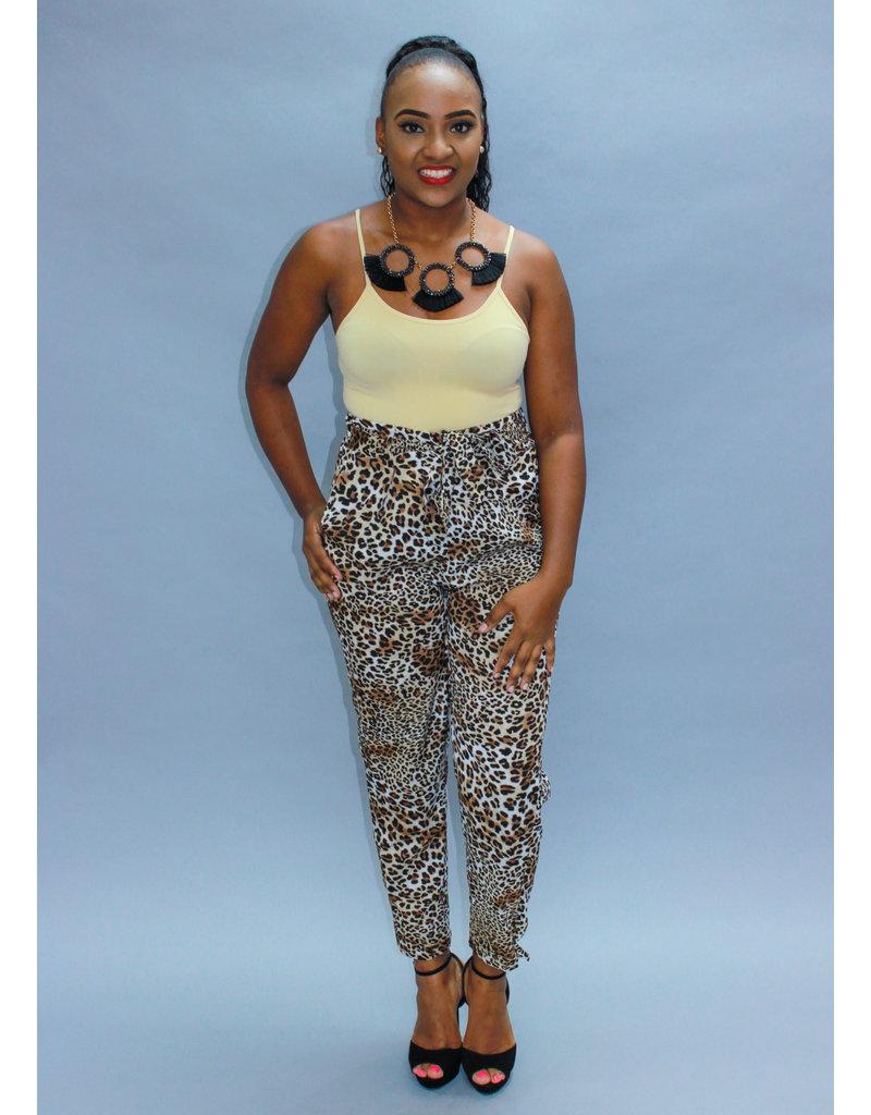 Show Me Your Spots Leopard Pants