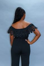 Black Swan Crochet Bodysuit