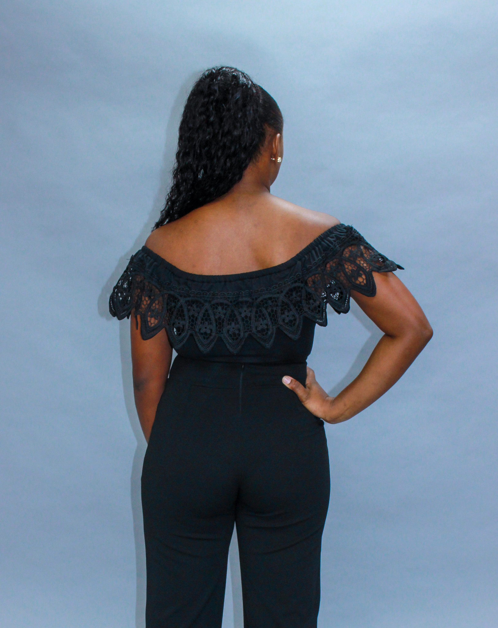 Black Swan Crochet Bodysuit