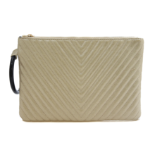 Quilted Patch Clutch