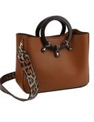 Hide Out Leopard Handbag