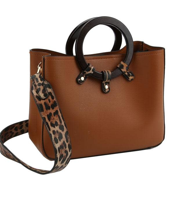 Hide Out Leopard Handbag