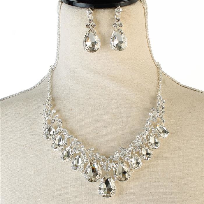 Diamonds Are Forever Necklace Set
