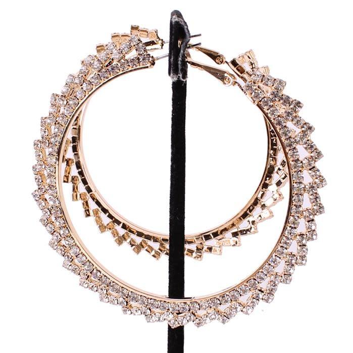 Circle Of Light Hoop Earrings