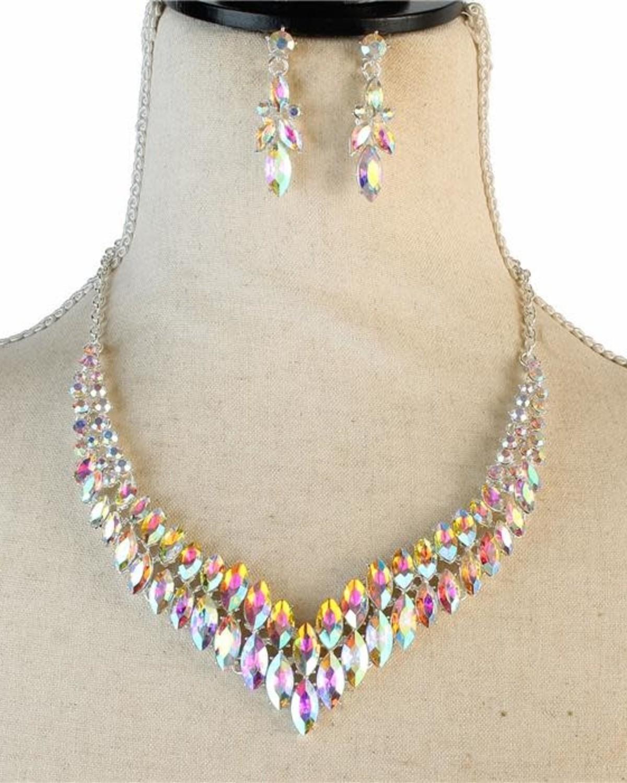 Mirror Magic Necklace Set