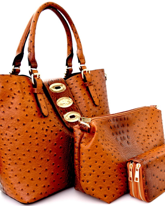 Total Package 3 N 1 Handbag Set