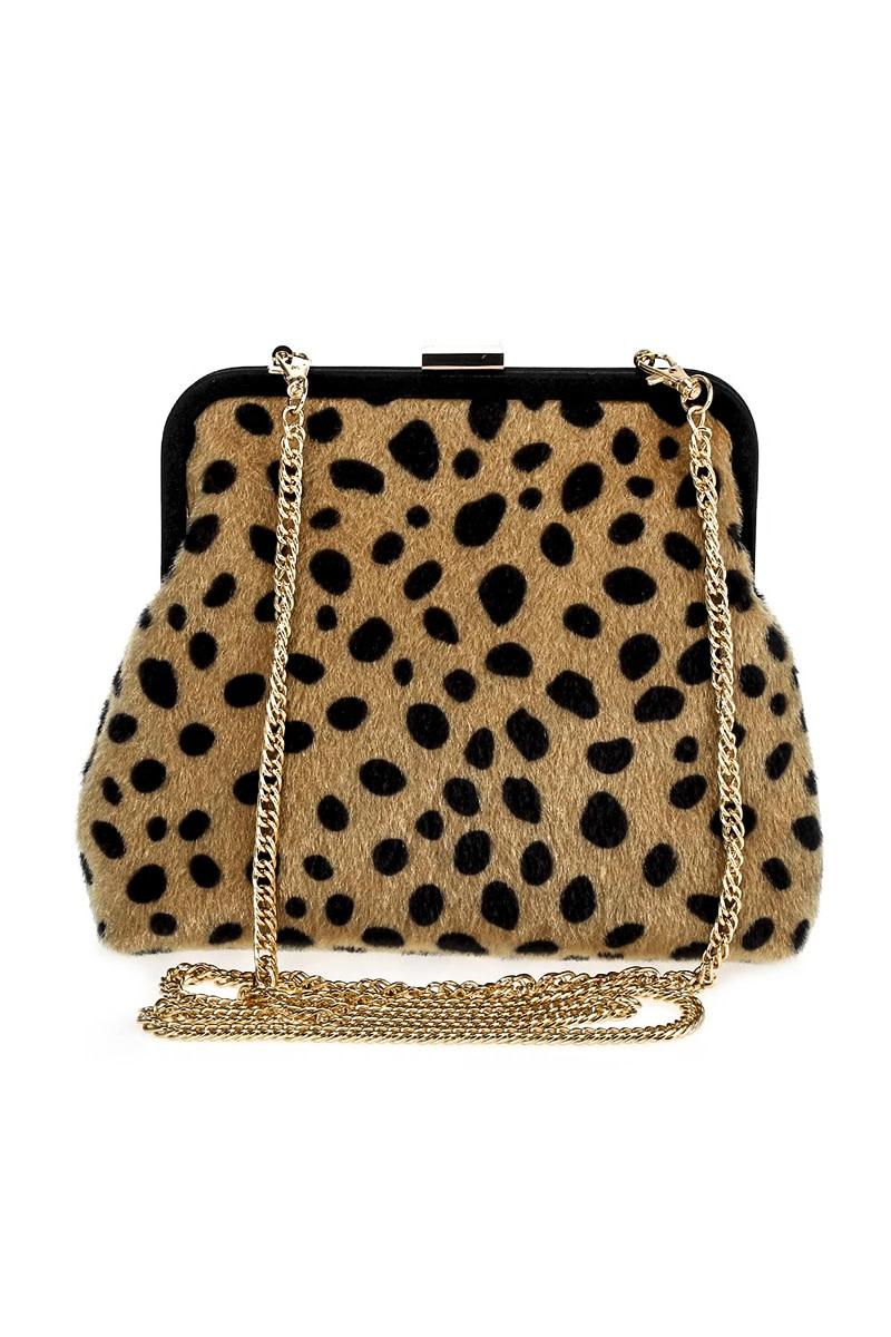 Jungle Fever Leopard Bag