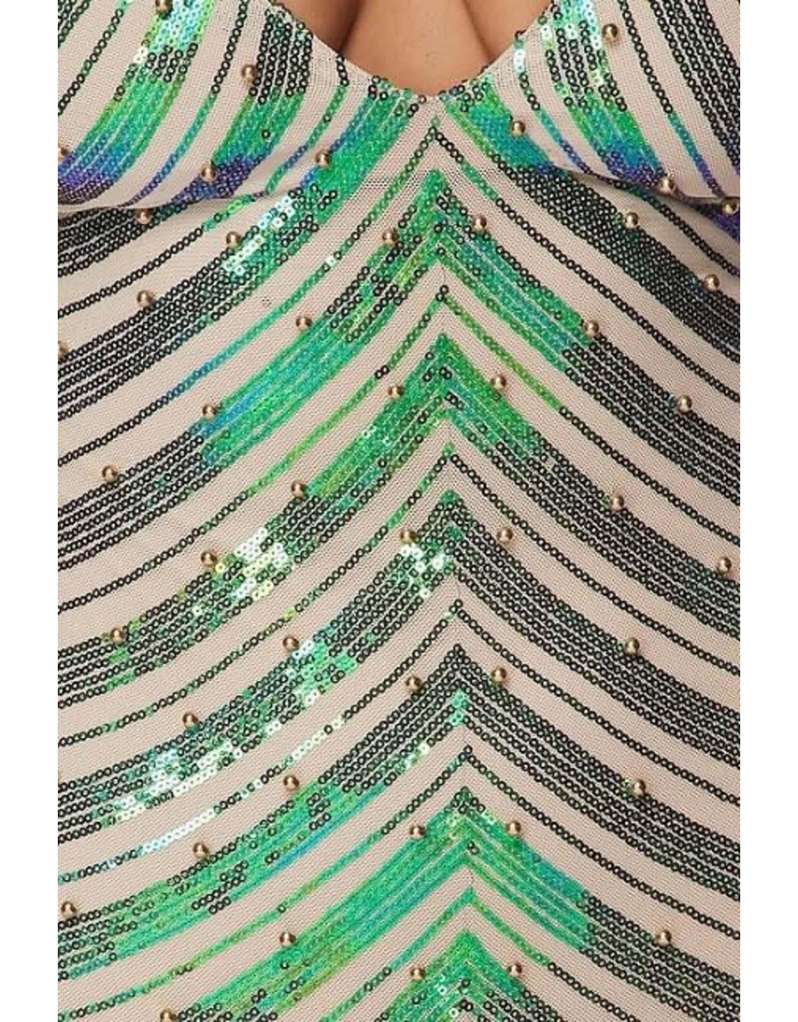 So Mesmerized Sequin Dress
