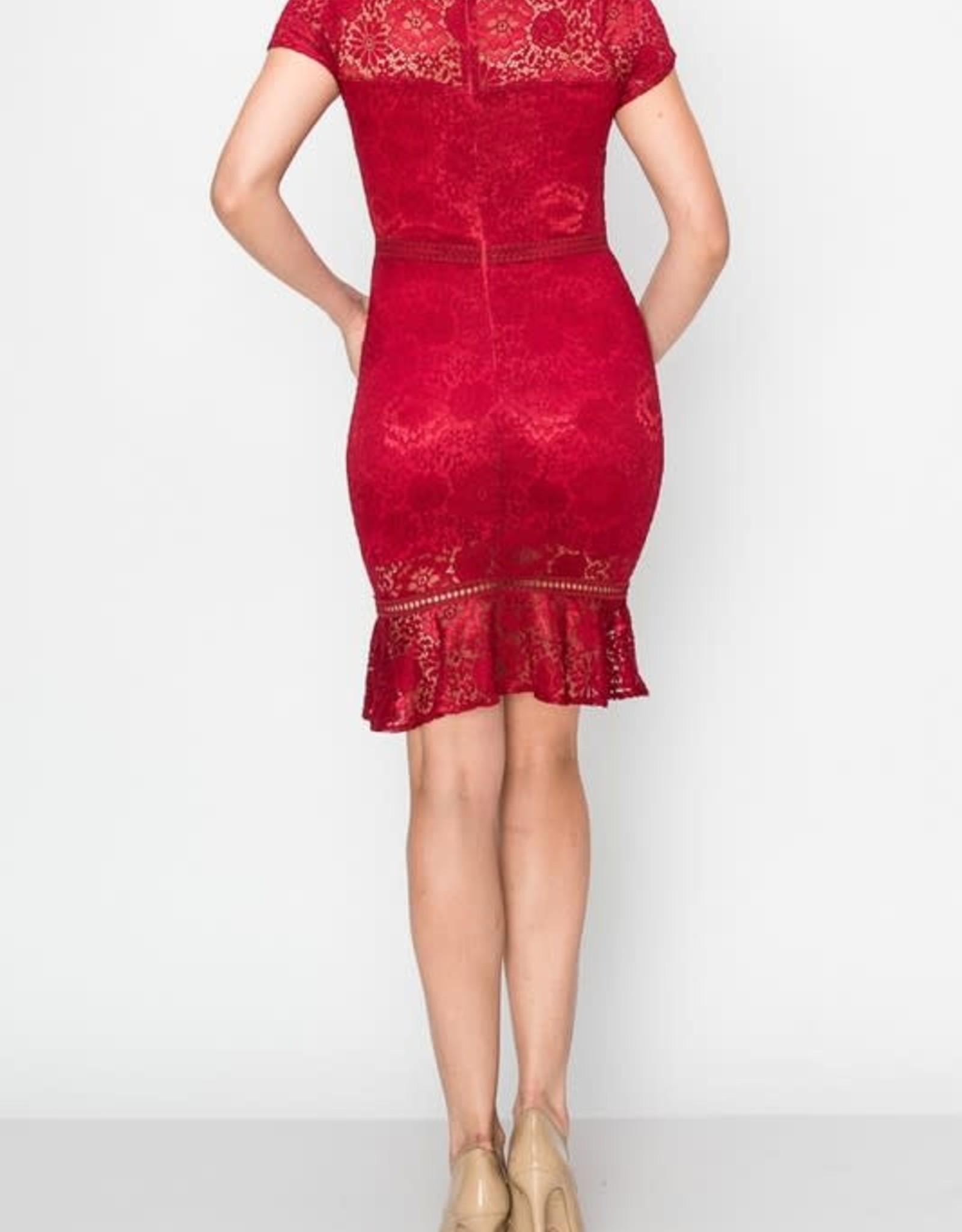 Not My Type Crochet Dress
