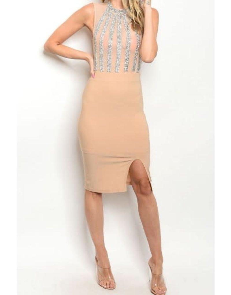Fearless Sequin Midi Dress