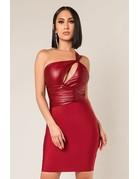 Melanin Glow One Shoulder Dress