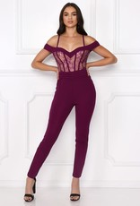 Broken Hearted Lace Jumpsuit